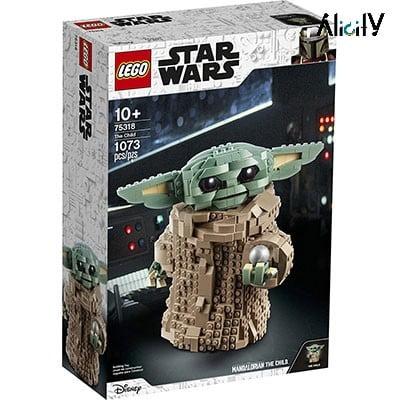 کارتن و اقلام همراه LEGO Star Wars: The Mandalorian The Child