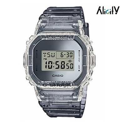 ساعت مردانه شیشه ای جی شاک مدل DW-5600SK-1DR