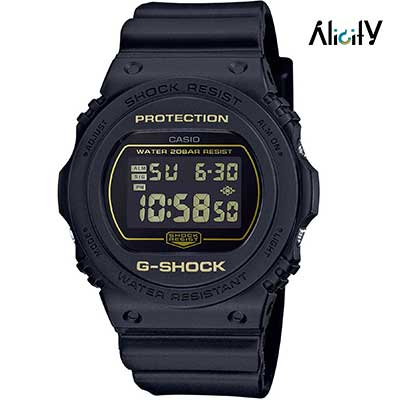 ساعت ضد ضربه مردانه جی شاک مدل DW-5700BBM-1DR